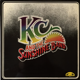 KC & The Sunshine Band ‎- KC & The Sunshine Band (LP) (EX-/VG)